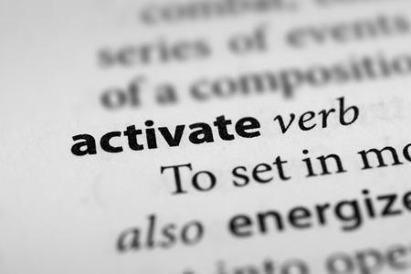 activate: Activate