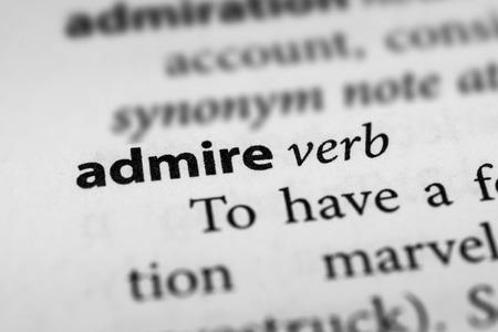 admire: Admire Stock Photo
