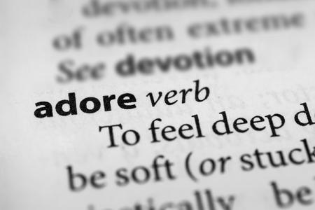 cherish: Adore