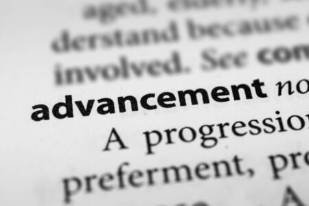 furtherance: Advancement