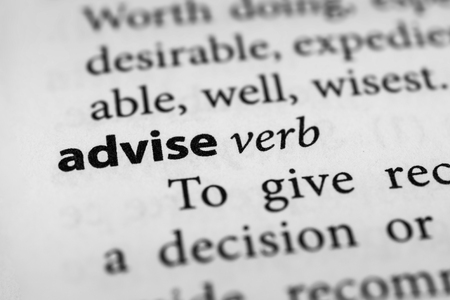 counsel: Advise