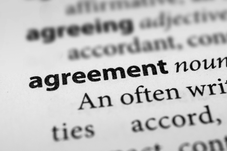 assent: Agreement