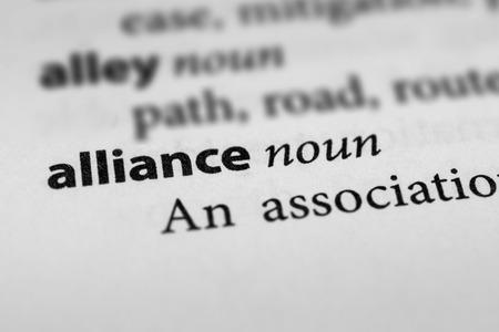 alliance: Alliance Stock Photo