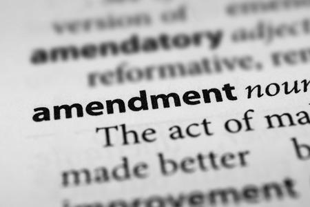 qualify: Amendment