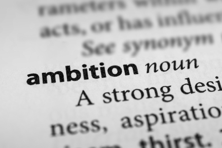 eagerness: Ambition Stock Photo