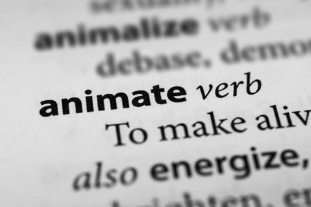 invigorate: Animate