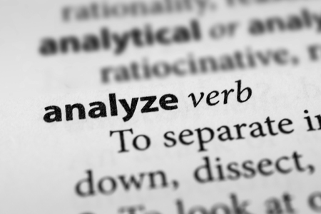dissect: Analyze Stock Photo