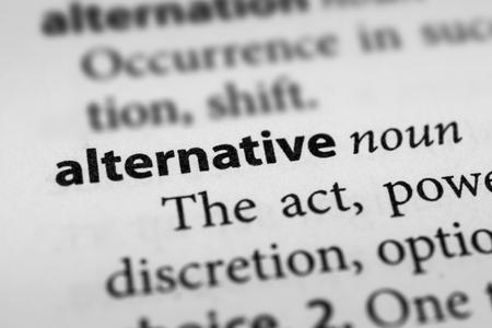 alternative: Alternative