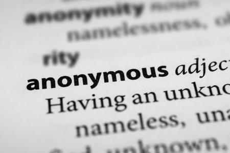 impersonal: Anonymous