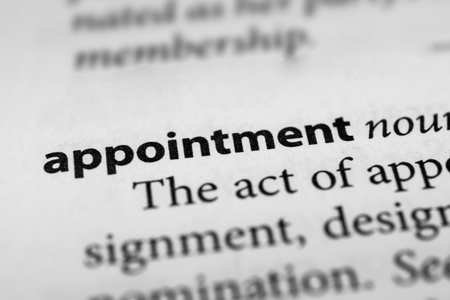 appointment: Appointment