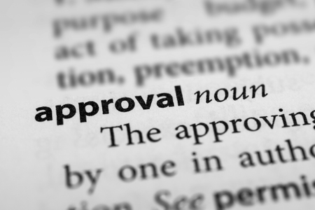 approbation: Approval