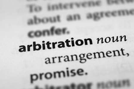 arbitration: Arbitration