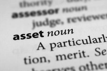 Asset Stock Photo