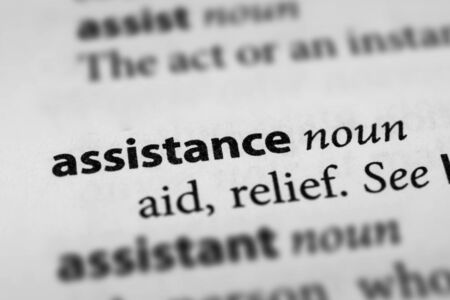 assistance: Assistance Stock Photo