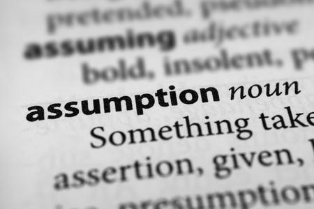 confiscation: Assumption