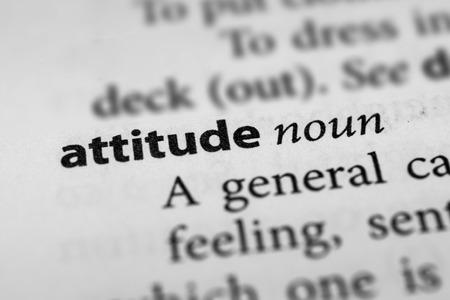 actitud: Actitud Foto de archivo