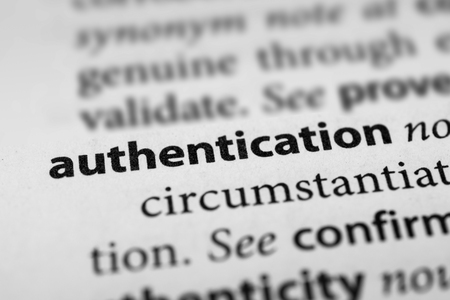 substantiate: Authentication