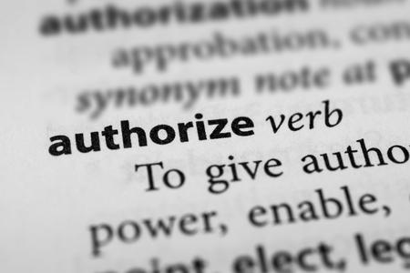 endorse: Authorize