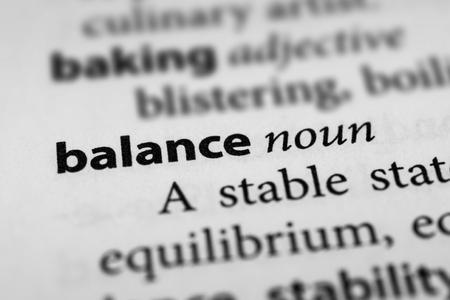 equipoise: Balance