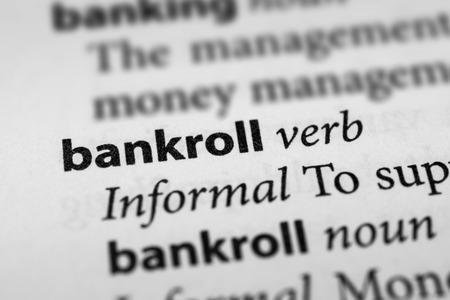money matters: Bankroll