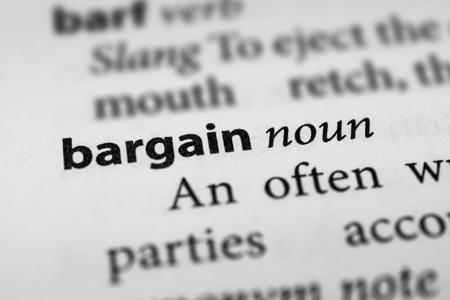 bargain: Bargain