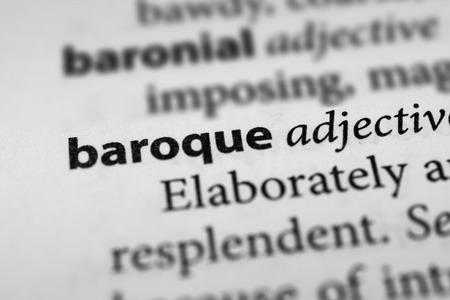 baroque: Baroque