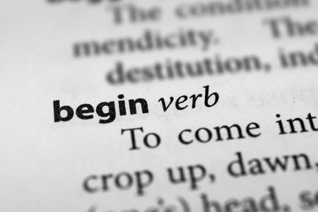 originate: Begin