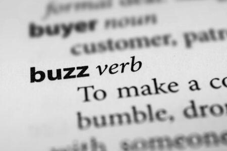 warble: Buzz Stock Photo