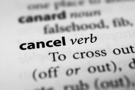 counterbalance: Cancel