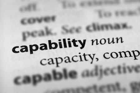 capability: Capability