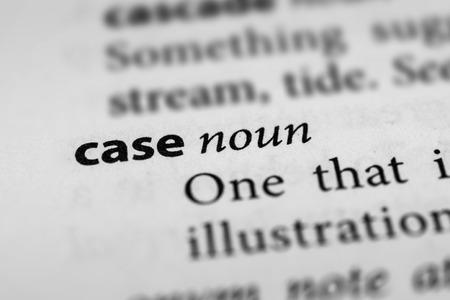 sufferer: Case