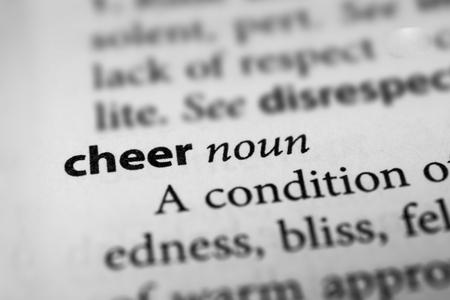 gladden: Cheer