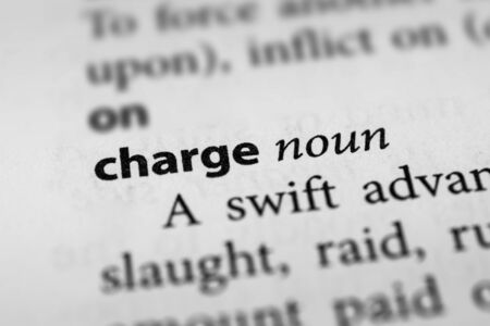 charge: Charge Stock Photo