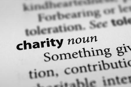 benevolence: Charity Stock Photo