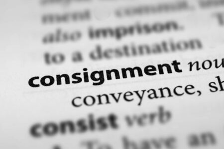 consignment: Consignment Stock Photo