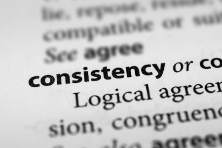 constancy: Consistency Stock Photo
