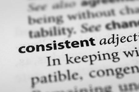 consistent: Consistent Stock Photo