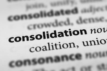 Consolidation Stock Photo