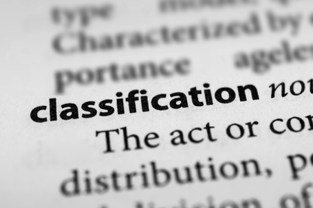 classifying: Classification