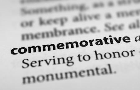 commemorative: Commemorative Stock Photo