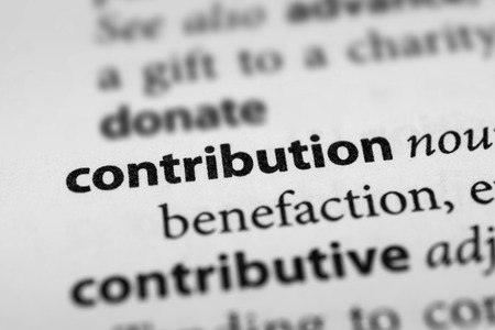 subsidy: Contribution