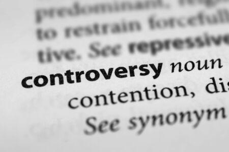 dissension: Controversy