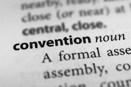 synod: Convention Stock Photo