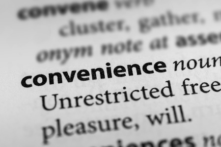 suitability: Convenience Stock Photo