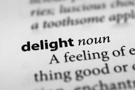 gladden: Delight