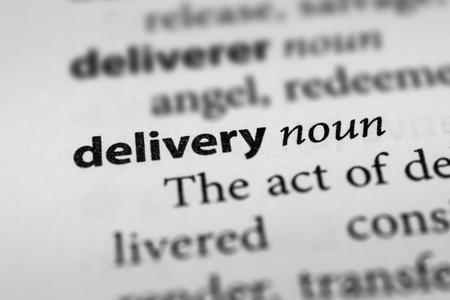 pronunciation: Delivery