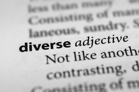 divergent: Diverse Stock Photo