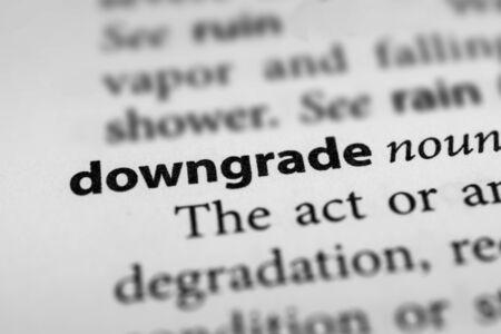 downgrade: Downgrade
