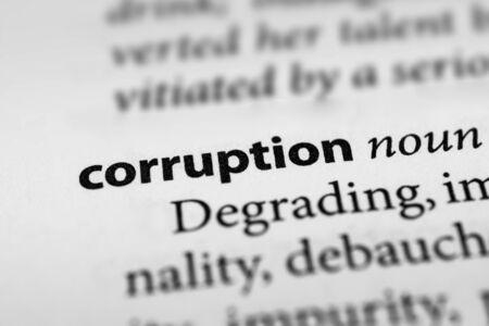 payola: Corruption Stock Photo