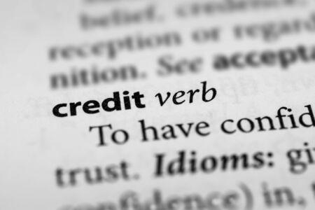 acknowledgment: Credit